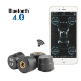Leegoal Smart Bluetooth Tire Pressure Monitoring System Tpms First Mobile Phone App Monitoring With External Sensor Intl Deal