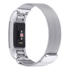 Buying Lgpenny Metal Stainless Milanese Magnetic Loop Band Strap For Fitbit Charge 2 Wristband Intl