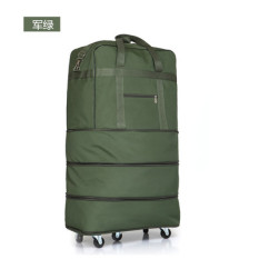 Light Large Capacity Universal Wheel 158 Aviation tuo yun bao Folding Wheel Package Export Home Moving Travel Bag Luggage Bag