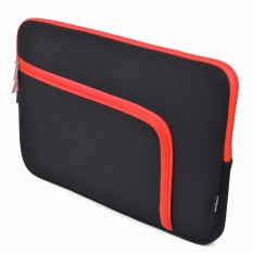 Sale Lightning Power 15 Inch Neoprene Sleeve Case With Anti Shock Eva Foam Shock Resistant Padding For Apple Macbook Pro 15 6 With Or Without Retina Display 15 Inch Chromebook Laptop L Pattern Black Red Intl China