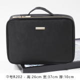 Retail Price Box Washed Large Capacity Multi Functional Square Bag Cosmetic Bag