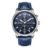 Best Deal Longbo Sport Style Military Army Leather Belt Luminous Multifuction Chronograph Quartz Wrist Watch