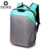 New Loself Ozuko External Usb Charging Rain Proof Anti Theft 15 6 Inch Laptop Backpack Large Capacity Business Backpack Casual Multifunction Travel Bag Fashion Sch**l Bag Intl