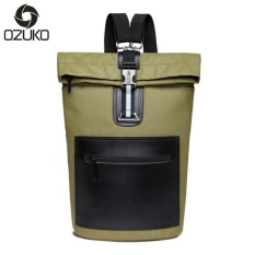 Cheaper Loself Ozuko Waterproof Oxford Laptop Backpack Casual Style Travel Backpack Fashion Sch**L Bag Intl