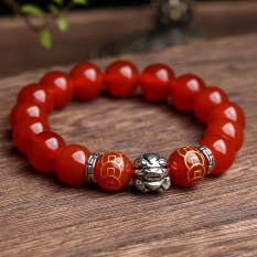 Store Lucky New Style Obsidian Red Agate Oem On China