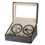 Buy Luxury Automatic 4 6 Quad Watch Winder Rotation Case Display Jewelry Box Storage Intl Not Specified Original