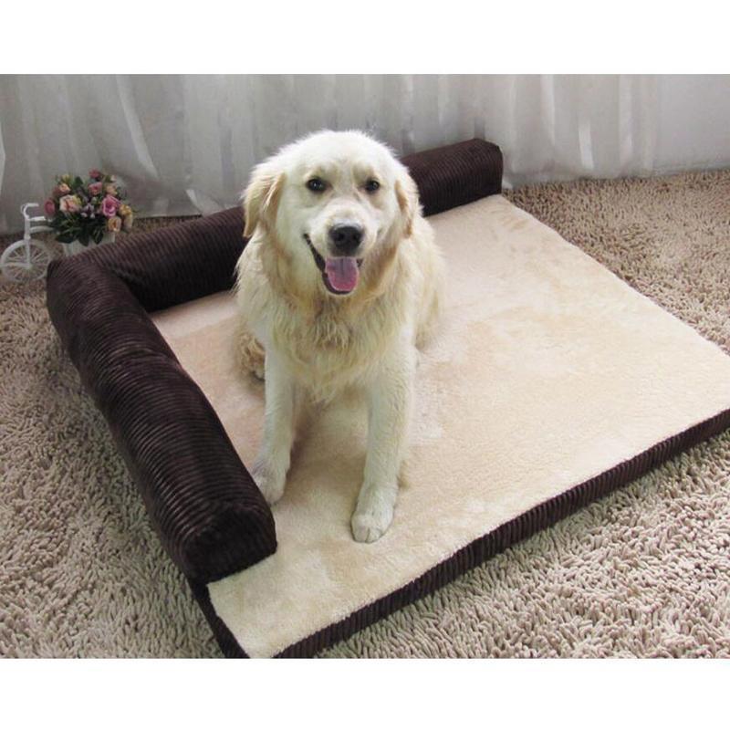 Luxury Dog Bed Sofa Cat Pet Cushion
