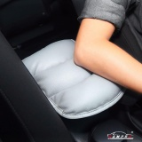 How To Buy Luxury Pu Soft Leather Car Center Console Cushion 28Cm21Cm Vehicle Seat Cushions Armrest Pillow Pad For Car Motor Auto Vehicle Raises Your Center Console Grey Intl