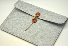 Best Offer Wool Felt Apple Notebook Protective Sleeve Cushioning Bag