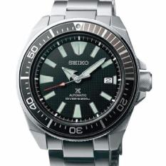 Best Made In Japan Brand New 100 Authentic Seiko Prospex Samurai In Black Dial Metal Bracelet Automatic Men S Diver Watch Srpb51J