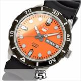 Price Made In Japan Seiko 5 Sports Automatic Mens Watch In Orange Dial Rubber Strap Srp675J Seiko Singapore