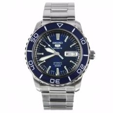 Made In Japan Seiko 5 Sports Automatic Mens Watch In Royal Blue Dial Snzh53J Seiko Discount