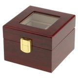 Price Magideal Jewelry Watch Collection Display Storage Organizer Wooden Box Case 2 Slots Intl Magideal Original