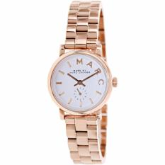Buy Marc By Marc Jacobs Baker White Dial Rose Gold Plated Ladies Watch Mbm3248 Cheap On Singapore