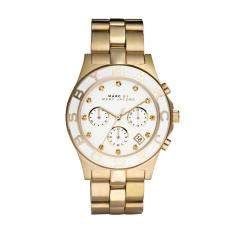 Discount Marc By Marc Jacobs Ladies Blade Chronograph Gold Watch Mbm3081 Singapore