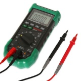 Promo Mastech Ms8268 Digital Multimeter Sound Light Alarm Auto Range Resettable Fuse Capacitance Frequency Measurement Intl