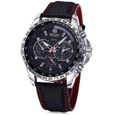 Cheap Megir 1010 Men Quartz Watch With Decorative Sub Dial Intl