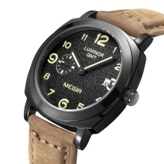 Buy Megir 1046 Male Japan Quartz Watch With Date Function Working Sub Dial Intl
