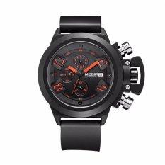 Price Megir 2002 Men Calendar Rubber Sport Quartz Wrist Watch Export Intl Megir Original
