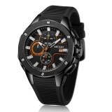 Price Megir Brand Quartz Men Watch Clock Relogio Masculino Luxury Chronograph Silicone Army Military Sport Watches Mens Saat Erkekler Mn2053G Intl Megir China