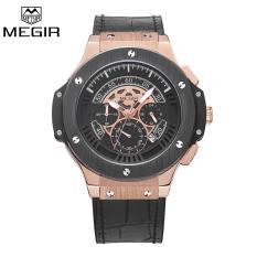 Price Megir Men Watch Chronograph Quartz Watches Big Dial Wristwatches Intl Megir New
