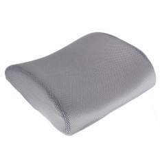 Sale Memory Foam Lumbar Back Support Cushion Pillow For Office Home Car Seat Chair Grey Oem Online