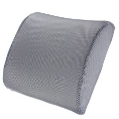 Sale Memory Foam Lumbar Back Support Cushion Pillow For Office Home Car Seat Chair Grey On China