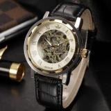 Buy Men Classic Roman Hand Winding Mechanical Hollow Skeleton Transparent Business Wrist Watch Pmw297 Intl Online