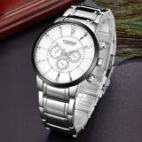 Top 10 Men Luxury Brand Watch Fashion Watch Quartz Business Casual Wristwatch 8001 Intl