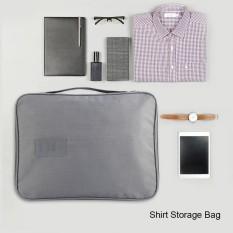 Sale Men Portable Travel Shirt Case Tie Clothes Storage Bag Orgnizar Dust Protection Intl Oem Online