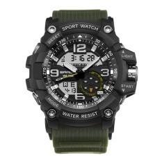 Sale Men Watch Waterproof Military Digital Analog Quartz For Sanda Color 1 Intl Vakind Branded