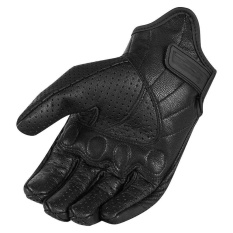 Review Men S Perforated Leather Motorcycle Mesh Gloves Black Windproof Warm Gloves Intl On China