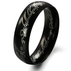 Men S Rock Retro Classic Ring Lord Of The Rings Intl Lower Price