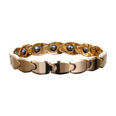 How Do I Get Men S Tungsten Gold Magnetic Therapy Bracelet Link Chain Bangle Export