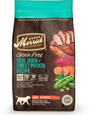Merrick Grain Free Real Duck Sweet Potato Dry Dog Food 5 4Kg For Sale