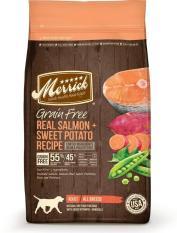 Sale Merrick Grain Free Real Salmon Sweet Potato Dry Dog Food 11 3Kg Merrick Branded