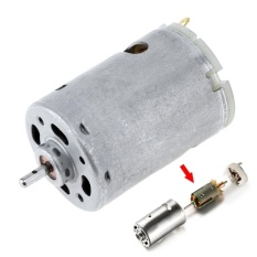 Buy Mhs 12V 1 4A 23000 Rpm 545 Dc Motor With 3Mm Shaft Diameter And Hightorque Gear Box For Remote Controlled Car Intl On China