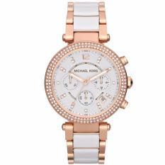 Compare Michael Kors Ladies Parker Chronograph Watch Mk5774 Prices