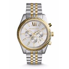 Michael Kors Mk8344 Lexington Two Tone Analog Men S Watch Shopping