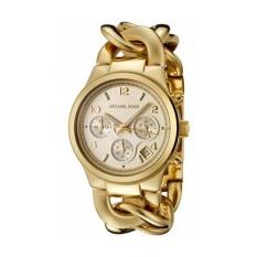 Best Buy Michael Kors Women S Runway Gold Tone Watch Mk3131