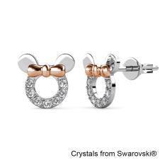 Discount Micky Earrings‏ Crystals From Swarovski® Her Jewellery