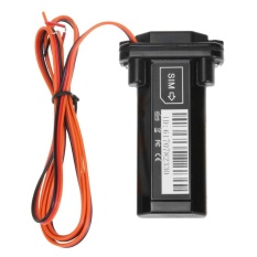 Mini Built-In Battery Waterproof Gsm Gps Tracker For Car Motorcycle Trackin (black) - Intl By Crystalawaking.