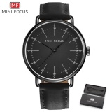 Best Reviews Of Mini Focus Top Luxury Brand Watch Famous Fashion Sports Cool Men Quartz Watches Waterproof Leather Wristwatch For Male Mf0056G Intl