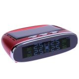 Mini Portable Solar Power Tpms Tire Pressure Monitoring System With Lcd Red Intl Discount Code