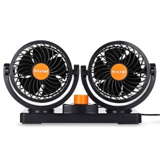 Compare Price Mitchell 2 Gears 360 Degree Rotating Mini Low Noise Adjustable Car Air Conditioner Cooling Fan Intl On Singapore