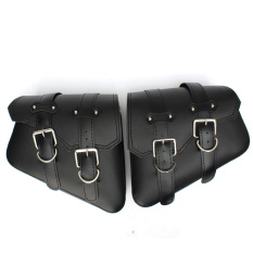 Shop For Motorcycle Saddlebags Pu Leather Pouch For Harley Davidson Touring Cruiser New