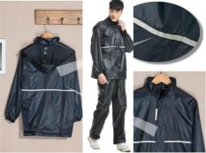 Shop For Motorcyclist Motorcycle Thick Waterproof Rain Coat Jacket With Pants Intl