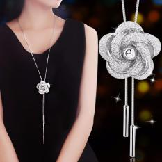 Discount Mrs Sterling Silver Necklace Sweater Chain Ms Necklace Jewelry 925 Sterling Silver Necklace Fashion Style Intl China