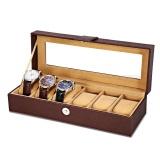 Lowest Price Multifunctional 8 Watch Box Jewelry Organizer Intl