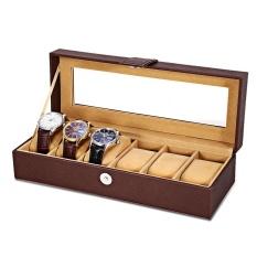 Retail Price Multifunctional 8 Watch Box Jewelry Organizer Intl